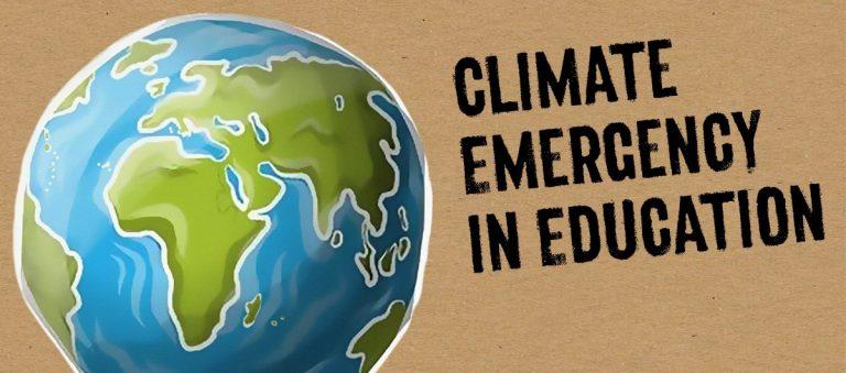 Por una educación que afronte el estado de emergencia climática y planetaria
