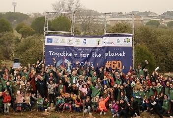 Las Rozas, sede de la COP25 con la plantación de 1.000 árboles para combatir la crisis climática