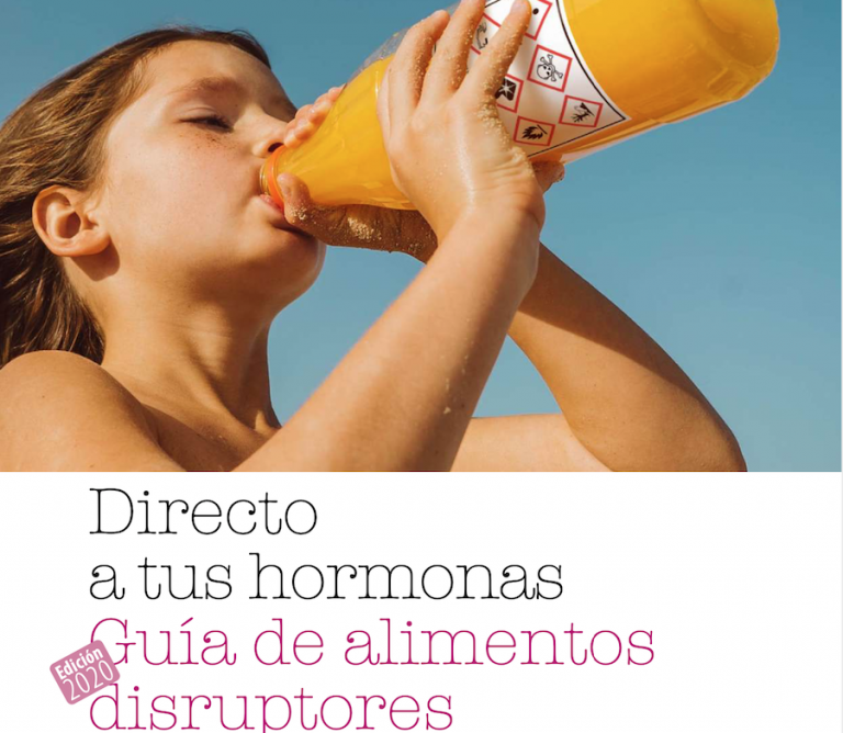 Directo a tus hormonas Guía de alimentos  disruptores